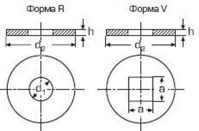 Шайба DIN 440 1